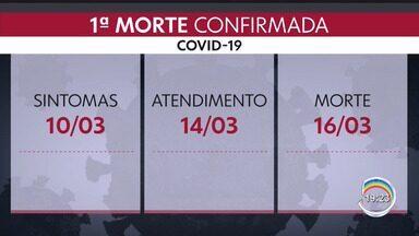Estado de SP registra a primeira morte pelo novo coronavírus no Brasil - Confira a reportagem.
