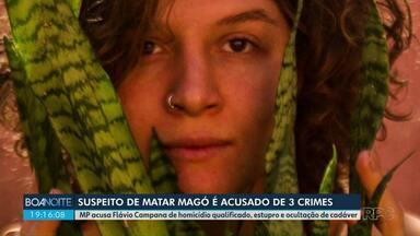 Suspeito de matar Magó é acusado de 3 crimes - MP apresentou hoje a denúncia.