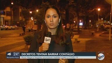 Prefeituras do Sul de Minas anunciam medidas para conter avanço do coronavírus - Prefeituras do Sul de Minas anunciam medidas para conter avanço do coronavírus