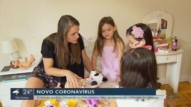 Crianças podem transmitir coronavírus mesmo sem apresentar sintomas da doença - Crianças podem transmitir coronavírus mesmo sem apresentar sintomas da doença