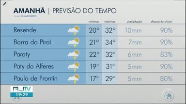 Quarta-feira é de sol entre nuvens no Sul do Rio - Meteorologia prevê pancadas de chuva em algumas cidades da região.