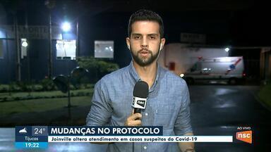 Joinville altera protocolo de atendimento para pacientes com suspeitas de coronavírus - Joinville altera protocolo de atendimento para pacientes com suspeitas de coronavírus