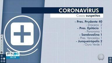 Aumento de casos suspeitos do novo coronavírus muda rotina de instituições na região - Presidente Prudente possui 40 notificações suspeitas da doença.