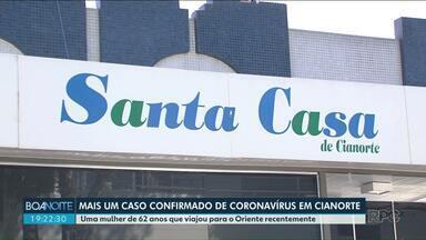 Prefeitura de Cianorte decreta situação de emergência por causa do coronavírus - A cidade tem dois casos confirmados do coronavírus e um em investigação.