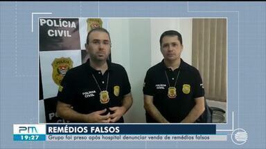 Grupo é preso em SP após hospital do Piauí denunciar venda de medicamentos falsos - Grupo é preso em SP após hospital do Piauí denunciar venda de medicamentos falsos