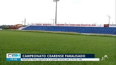 Futebol cearense sofre os impactos da pandemia do coronavírus - Confira mais notícias em g1.globo.com/ce