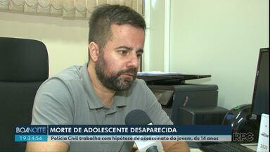 Policia investiga morte de menina em Prudentópolis - Delegado do caso trata o caso como homicídio.
