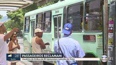Passageiros reclamam da redução da frota de ônibus em BH - Sindicato das empresas admite diminuição por causa da queda do número de usuários e das medidas adotadas para enfrentamento ao novo coronavírus.