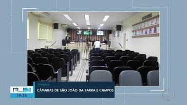 Câmaras de Vereadores de São João da Barra e de Campos acontecem sem público - Medida foi tomada como forma de prevenção ao coronavírus.