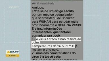Fake news prejudicam combate ao novo coronavírus - Notícias falsas atrapalham luta contra doença.