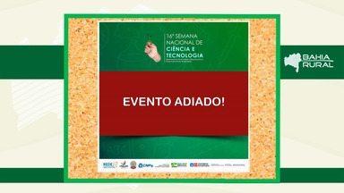 Agenda Rural: eventos são cancelados por conta de riscos do coronavírus - Veja quais atividades foram adiadas ou canceladas na Bahia.