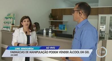 Farmácias de manipulação podem vender álcool em gel - Governo anunciou acordo para venda de álcool em gel a preço de custo.
