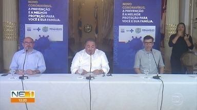 Número de casos do novo coronavírus chega a 31 em Pernambuco - Dados foram divulgados na noite de sexta (20) pelo governo