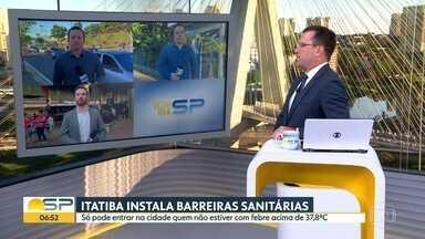 Cidades do interior do estado tomam medidas pra prevenir propagação do novo coronavírus - Itatiba, São Carlos, São José do Rio Preto e Campinas tem ações.