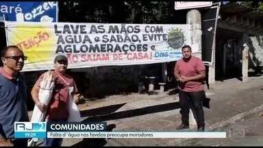 Favelas do Rio criam ações para prevenir a contaminação pelo novo coronavírus - Moradores das favelas estão preocupados com o avanço da Covid-19. As próprias comunidades estão se organizando para enfrentar a pandemia e frear a contaminação do novo coronavírus.