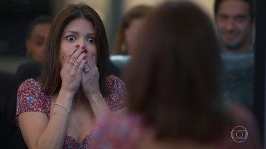Kyra/Cleyde perde um dente no acidente - Zezinho socorre a amiga. Alexia/Josimara culpa Bel por ter apertado o botão do touro mecânico durante a briga
