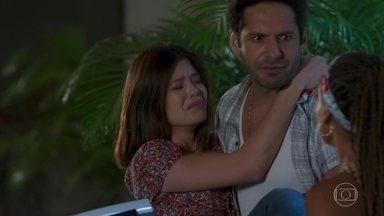 Zezinho leva Kyra/Cleyde para o dentista - Alexia/Josimara e Bel seguem trocando acusações