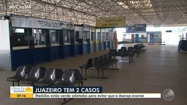 Prefeitura de Juazeiro amplia medidas para evitar disseminação do coronavírus - Município do norte baiano tem dois casos confirmados da doença.