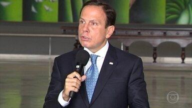 Doria e Bolsonaro discutem em reunião de governadores - Governador de São Paulo fez duras críticas ao presidente por pronunciamento minimizando coronavírus.