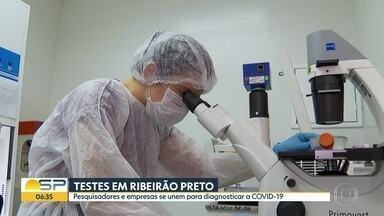 Pesquisadores e empresas se unem no combate ao novo coronavírus - Objetivo é facilitar acesso a testes.