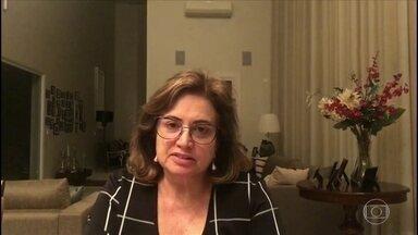 Especialista diz que problema de leitos no Brasil é a má distribuição - Diretora da Associação de Medicina Intensivista Brasileira, Suzana Lobo, explica que os leitos no Brasil estão mais concentrados no sistema privado e em alguns estados.