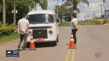 Cidades do Sul de Minas mantém barreiras em entradas nos municípios - Cidades do Sul de Minas mantém barreiras em entradas nos municípios
