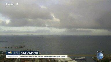 Confira a previsão do tempo para este fim de semana em Salvador - A capital baiana pode ter chuvas moderadas, de acordo com a Codesal.