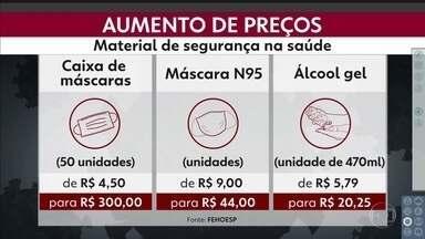 Hospitais denunciam aumento abusivo de preços de insumos básicos - Itens essenciais aumentaram de 100% a 3.000% desde fevereiro.