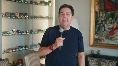 Programa de 29/03/2020 - Fausto Silva comanda o programa