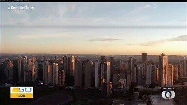 Veja a previsão do tempo para esta semana em Goiás - Segunda-feira começa com sol e poucas chances de chuva.