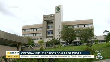 Maternidades adotam medidas de prevenção ao Covid-19 no Amazonas - Maternidades adotam medidas de prevenção ao Covid-19 no Amazonas