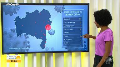 Alagoinhas tem o segundo caso confirmado de coronavírus; veja os dados da doença na Bahia - Em Paulo Afonso, o Ministério Público pediu para a prefeitura avaliar a possibilidade de reabrir o comércio.