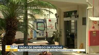 Vagas de emprego em Jundiaí - Setores de saúde, logística e entregas abrem postos de trabalho.