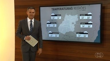 Veja a previsão do tempo em Goiânia - Dia deve ser de sol e calor na capital com temperaturas a mais de 30°C.