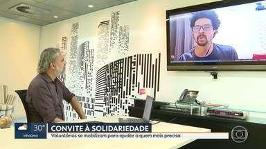 Solidariedade durante a pandemia de coronavírus - undefined