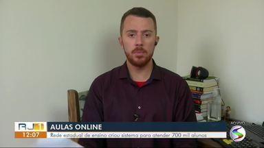 Secretaria estadual de ensino cria sistema de aulas pela internet - undefined