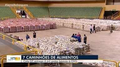 Celg GT doa 4 mil cestas básicas para OVG - Itens foram arrecadados por funcionários e empresas parceiras.