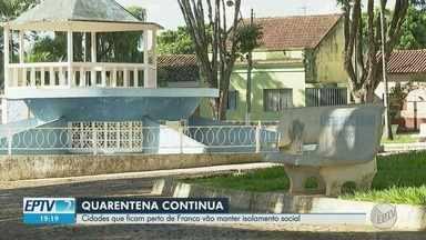 Cidades do entorno de Franca mantêm isolamento social para conter novo coronavírus - Municípios poderiam relaxar quarentena por terem poucos casos da Covid-19, mas preferem manter medidas de combate à doença.