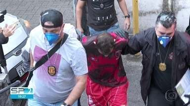 Polícia prende quadrilha que furtou 50 mil máscaras de hospital - Investigação apontou que 6 dos presos trabalhavam na instituição. Quadrilha agia há pelo menos 2 anos e também desviava outros insumos hospitalares.