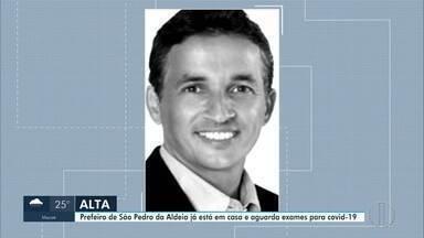 Prefeito de São Pedro da Aldeia é internado em hospital de Cabo Frio, no RJ - Ele foi internado com quadro de pneumonia e realizou exames para o coronavírus.