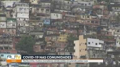 Rio de Janeiro confirma 6 mortes em comunidades - Pelo menos 9 comunidades do Rio de Janeiro já tem casos confirmados.