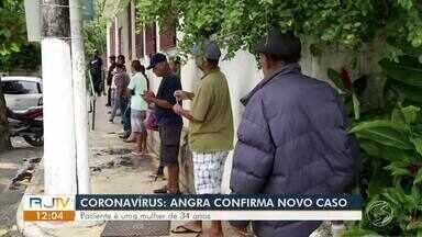 Angra dos Reis confirma quinto caso de coronavírus - Paciente é uma mulher de 34 anos. Ela está em isolamento domiciliar.