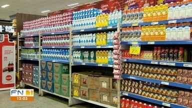 Preço do leite dispara nos supermercados em Presidente Prudente - Aumento pesa no bolso dos consumidores.