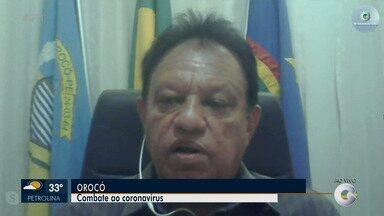 Secretário de Saúde de Orocó fala como está sendo trabalho contra o avanço da covid-19 - Secretário destaca as medidas adotadas no município.