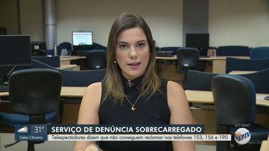 Moradores reclamam que serviço de denúncias da Prefeitura não funciona em Ribeirão Preto - Telefones estão sobrecarregados.