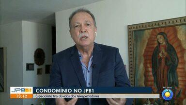 Especialista tira dúvidas sobre condomínios - Inaldo Dantas responde mensagens de telespectadores.