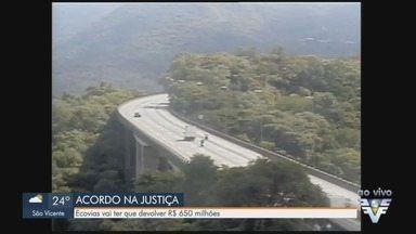 Ecovias vai ter que devolver mais de R$ 600 milhões por causa de um esquema de corrupção - Empresa admite ter participado de esquema por quase 18 anos durante gestões do PSDB no Governo do Estado.