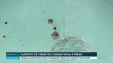 Suspeito de participar de crime no Cidade Nova é preso - Cinco pessoas morreram e duas ficaram feridas. Crime foi no dia 22 de março.