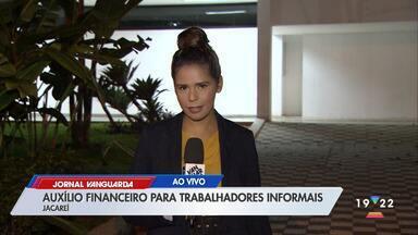 Trabalhadores informais de Jacareí recebem auxílio de R$ 154 durante quarentena - Confira reportagem do Jornal Vanguarda de 09/04/2020.