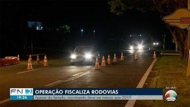 Operação Semana Santa fiscaliza rodovias do Oeste Paulista - Ação segue até domingo (12).